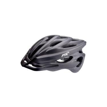 Imagem de Capacete Ciclismo Runner Ptk Bike Mtb Speed Carbono 56-62cm