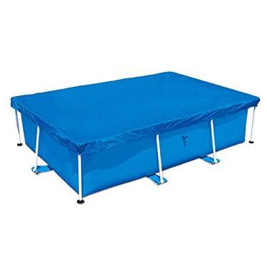Imagem de Capa para piscina retangular capa para piscina, capa para piscina à prova de chuva, capa para piscina acima do solo para piscina inflável retangular
