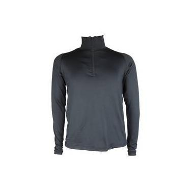 Blusa Térmica Masculina Seg. Pele Meio Zíper Thermo Premium e8e4bebc45b58