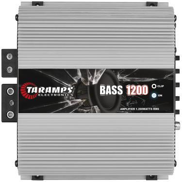 Módulo Taramps Bass 1200 1200w Amplificador Automotivo Módulo Taramps Bass 1200 2 ohms 1200w Amplificador Automotivo