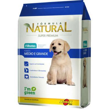 Ração Fórmula Natural Super Premium para Cães Filhotes Raças Médias e Grandes - 2,5 Kg