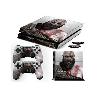 Adesivo Skin PS4 Fat Kratos God Of War 4