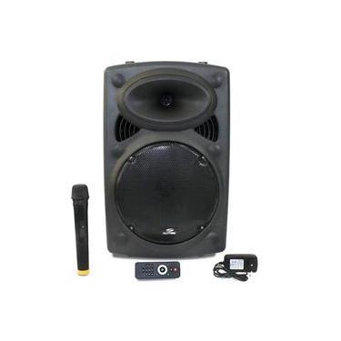Caixa de Som Sumay 300w Bluetooth 1 Microfone
