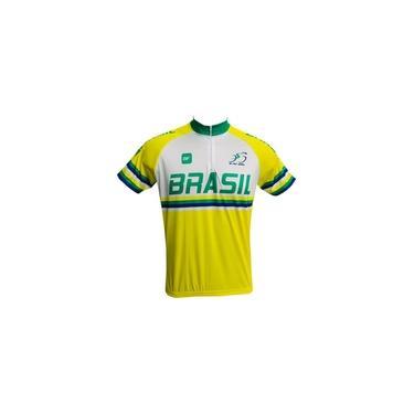 Camisa Ciclismo MTB Seleção Brasil