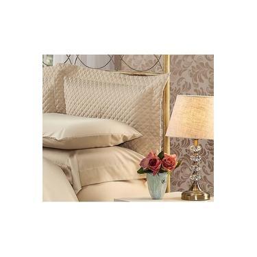 Imagem de Fronha Para Travesseiro 50x90Cm Matelasse Soft Touch Marrom Plumasul