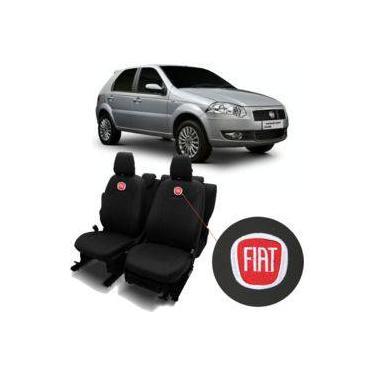 Capas De Bancos Automotivos Couro Carro Específicas Fiat Palio Weekend 2003 a 2008