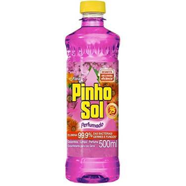 Desinfetante Pinho Sol Floral 500Ml