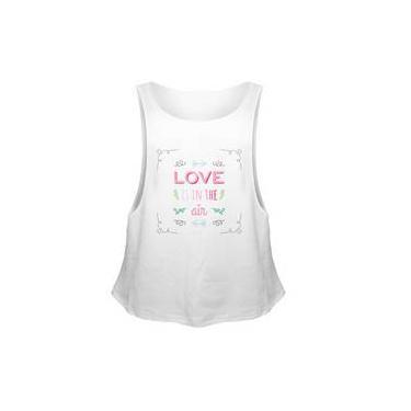 Camiseta Regata Sport Fit Love In The Air