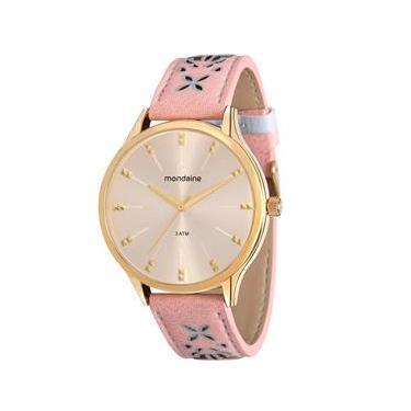 7dfa7df5a60 Relógio Feminino Analógico Mondaine 76610LPMVDH3 - Bege