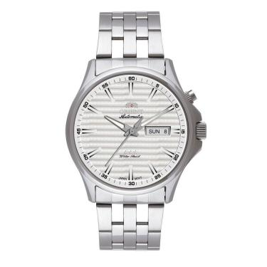 bd1450f8688 Relógio Masculino Orient Analógico 469ss043 S1sx - Prata