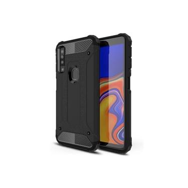 Capa anti-impacto Hybrid Rugged para Samsung Galaxy A9 2018 - Preta
