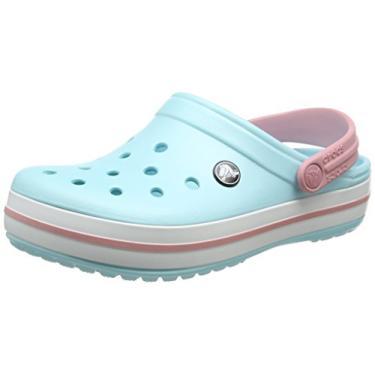 Sandalia Crocs Crocband 11016-4s3 39 Azul/Bebe