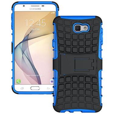 Capa para Samsung Galaxy On7 (2016), capa híbrida para Galaxy On7 (2016), Galaxy On7 (2016), capa com suporte, camada dupla híbrida à prova de choque, capa rígida com suporte para Samsung Galaxy On7 (2016)