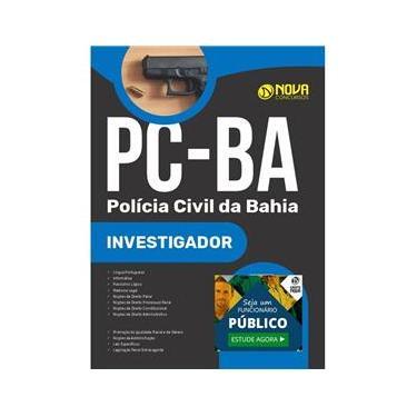Imagem de Apostila Pc Ba - Investigador