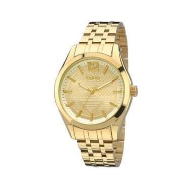 386dabbc6a9 Relógio Feminino Analógico Euro EU2036LYW 4D – Dourado
