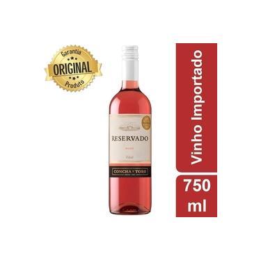 Vinho Rosé Chileno Cabernet Sauvignon Concha Y Toro Reservado Suave 750ml