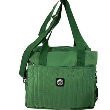 Bolsa Tiracolo Tactel Tote Premium Notebook Verde 188#