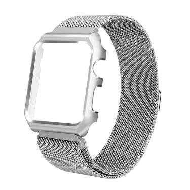 Pulseira Prata Magnétic Bumper Apple Watch 42mm Série 1 2 3