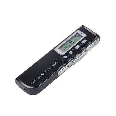 Mini Gravador De Áudio Voz Digital 8gb Escuta Telefônica Mp3