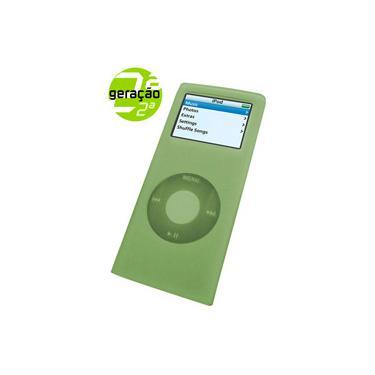Capa em Silicone para iPod Nano 2º Geração Verde Claro - Santel Tech