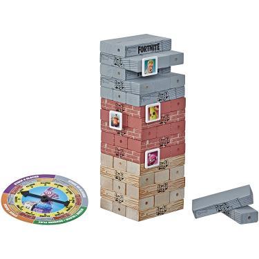 Imagem de Hasbro Gaming Jenga: Jogo Fortnite Edition, Jogo de Torre de Empilhamento de Blocos de Madeira para fãs de Fortnite, Idades 8 e Up