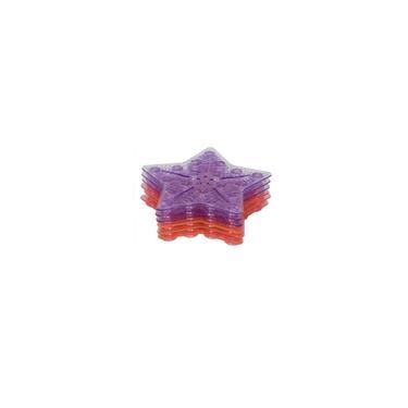 Imagem de Tapete de Banho Antiderrapante Mini c/ 6 Pecas Rosa - KaBaby