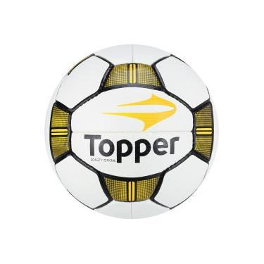 Bola Society Topper Maestro II - BRANCO AMARELO Topper 44a9b658aceaf