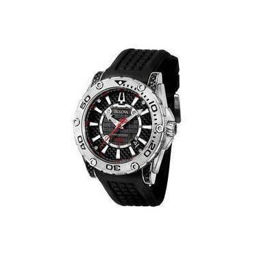 59a4bca6b70 Relógio de Pulso Bulova Borracha