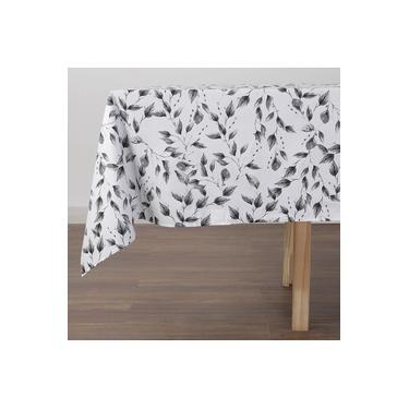 Imagem de Toalha De Mesa Quadrada Folliage 180 X 180 Cm - Percal 180 Fios - 1 Peça Casa & Conforto