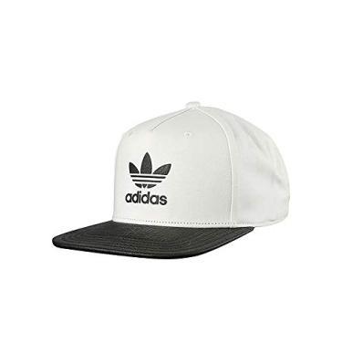 Boné Adidas Snapback Originals Ori Animal - Tamanho Acessórios(único)  Cores(branco  ef540dd6172