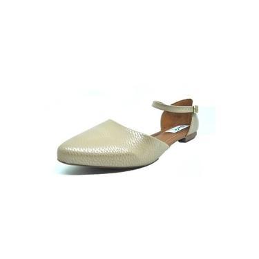 Sapatos Femininos Sapatilha Sandalia Bico Fino Nude Dani K