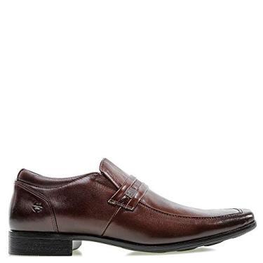 Sapato Casual Ferricelli Marrom Masculino 38