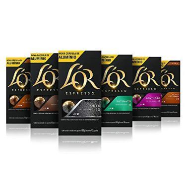 Imagem de Kit Capsulas de Café LOR para Nespresso 60 unidades