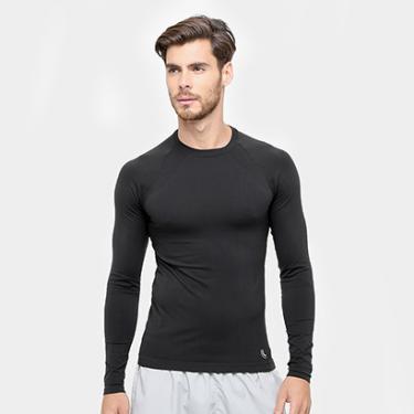 Camiseta de Compressão Lupo Sport Run Manga Longa - Masculino 5b6b2b6bf069e