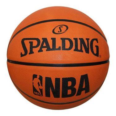 Bola de Basquete Spalding  NBA Fastbreak - Borracha Laranja
