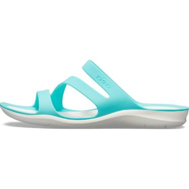 Sandália Crocs Swiftwater Sandal Azul  feminino