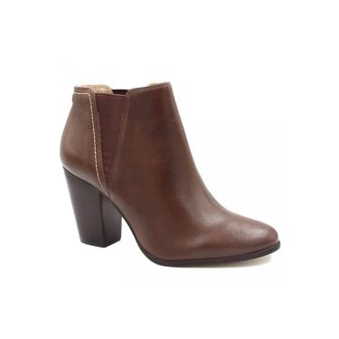 Bota Cano Curto Jorge Bischoff Ankle Boot Salto