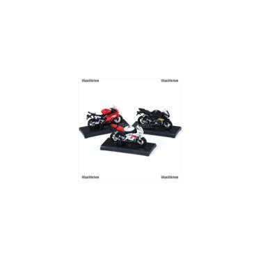 Imagem de Uequilibrium Lançamento 1: 18 Yamaha Yzf-R6 Azul Da Motocicleta Da Bicicleta Modelo Miniatura Brinquedo