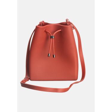 Bolsa Zart Shape Bag Coral  feminino