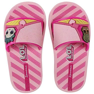 Chinelo Slide Menina Ipanema LOL Surprise
