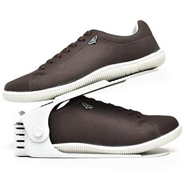 Kit Sapatênis Sapato Casual Com Organizador Masculino DUBUY 900DB Tamanho:38;cor:Marrom;gênero:Masculino
