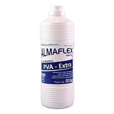 Imagem de Cola Adesiva Branca PVA Almaflex 813 1kg