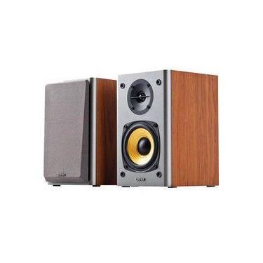Caixa Multimidia 2.0 Com Woofer 24w Rms R1000t4 Cinza/Amadeirado Edifier