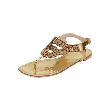 Rasteira My Shoes Bordada