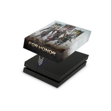Capa Anti Poeira para PS4 Fat - For Honor