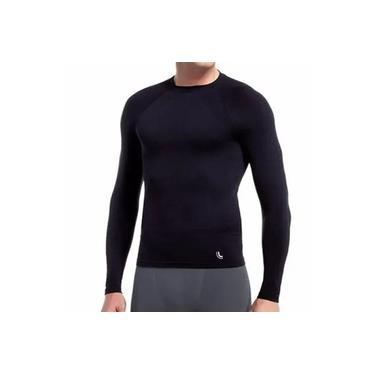 Camiseta Térmica Masculina Lupo Manga Longa 70045-001