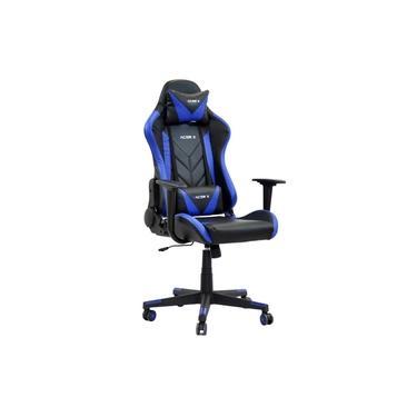 Cadeira Gamer Racer X Reclinável Azul