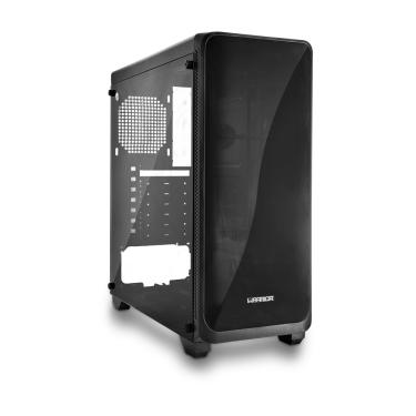 Gabinete Gamer Modoc Painel Lateral Temperado Preto Warrior - GA178 GA178