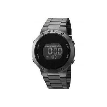 Relógio de Pulso Feminino Euro Digital   Joalheria   Comparar preço ... 4448556bde