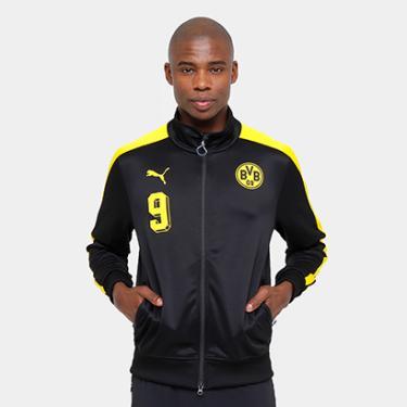86b897e8ad Jaqueta Borussia Dortmund Puma T7 Masculina - Masculino